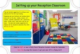 Setting up your Classroom (Kindergarten & EYFS).  New Teac