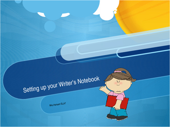 Setting up your Writer's Notebook for Middle School