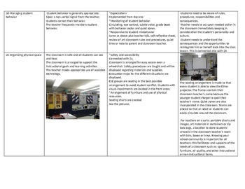 Setting up your instructional environment for success-Art Class sample-
