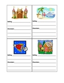 Setting (where and when) and Character activity