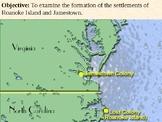 Settlement of Roanoke Island and Jamestown PowerPoint Pres