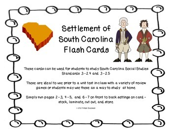 Settlement of SC Flash Cards