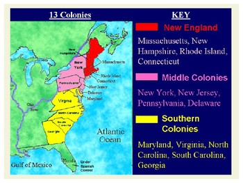 Settlement of Southern Colonies