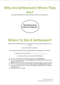 Settlements Booklet