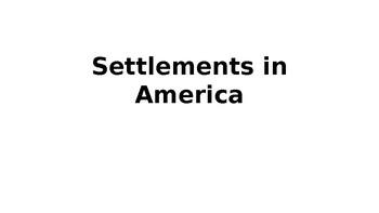 Settlements in America