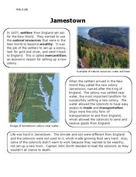 Jamestown Reading