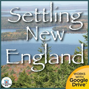 Settling New England Interactive Notebook