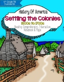 Settling the Colonies - 1600s-1700s {TN 4th Grade Social Studies Standards}