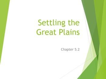 Settling the Great Plains