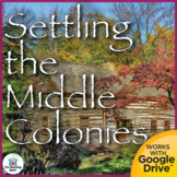 Settling the Middle Colonies United States History Unit
