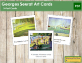 Seurat (Georges) 3-Part Art Cards