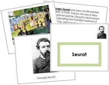 Seurat (Georges) Art Book - Color Border