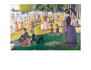 Seurat Pointillism Bugs and Insects Drawing