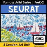 Seurat Pointillism Project-Based Art Unit for Famous Artis