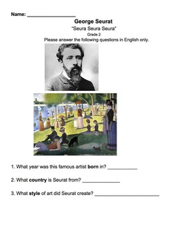 Seurat Worksheet