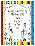 Seusical Adding & Subtracting Multiples of 10 Scoot Game