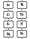 Seuss Alphabet/Letter Labels