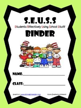 Seuss Binder Cover