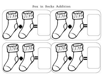 Seuss Fox in Socks Addition