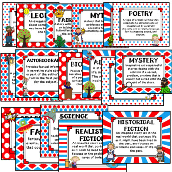 Genre Posters- Whimsical Theme