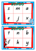 Seuss Inspired Alphabet & Initial Letter Sound BINGO in QLD Font