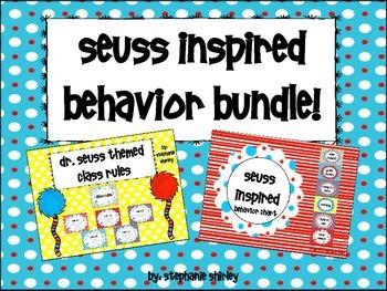 Seuss Inspired Behavior Bundle