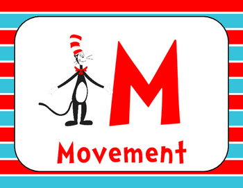 Seuss Inspired Champs Posters Classroom Management