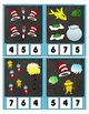 Seuss Inspired Counting 0 to 20 Clip Cards for a Fun Math