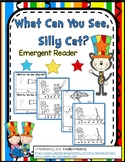 """Seuss Inspired Emergent Reader - """"What Can You See, Silly Cat?"""""""