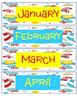 Seuss Inspired Happy Birthday Board