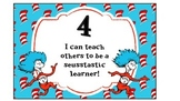 Seuss Inspired Learning Scale