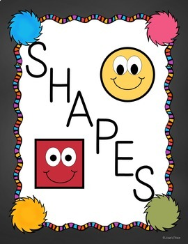 Dr. S  Inspired Shape Posters