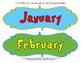 Seuss-Like Colors Calendar