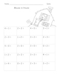Seussish Math Freebies!  Write Numbers  Addition to 5 Fluency Practice