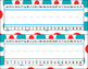 Nameplates and Signs ~ Red, White, and Blue - Editable
