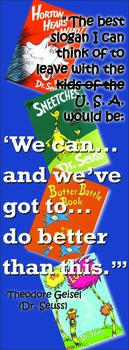 Seuss Quote Poster