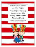 Seuss-Tastic Kinder Activity Pages