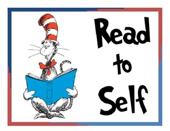 Seuss Theme Daily 5 Signs