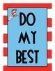 Seuss Themed Classroom Rules