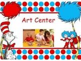 Seuss center signs