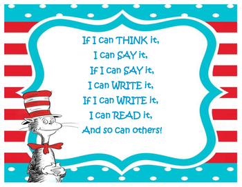 Seuss inspirational poster