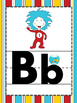 Seuss inspired ABC cards