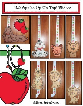 "Seuss's ""10 Apples Up On Top"" Animal Sliders"