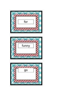 Seuss sight words