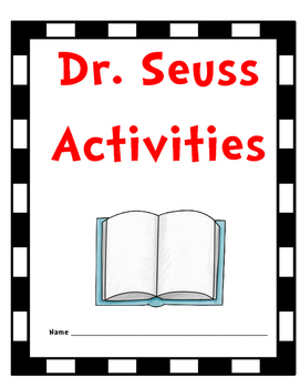 Seusstastic Dr. Seuss Activities: Perfect for Read Across America too!
