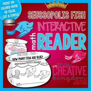 Fish Number Bond Interactive Math Reader