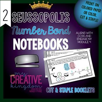 Number Bond Composition & Decomposition Math Notebooks - # 2-15