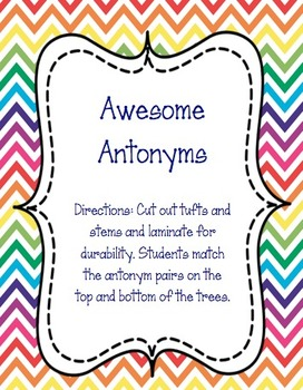 Awesome antonyms for Read Across America!