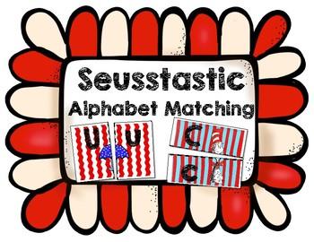 Seusstastic Alphabet Matching