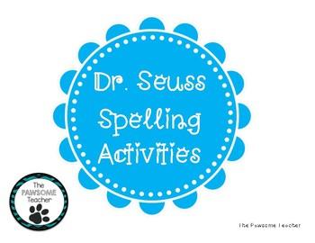 Dr. Seuss Week Spelling Activities
